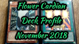 Flower Cardian Yugioh! Deck Profile NOVEMBER 2018 BudgetDecks!