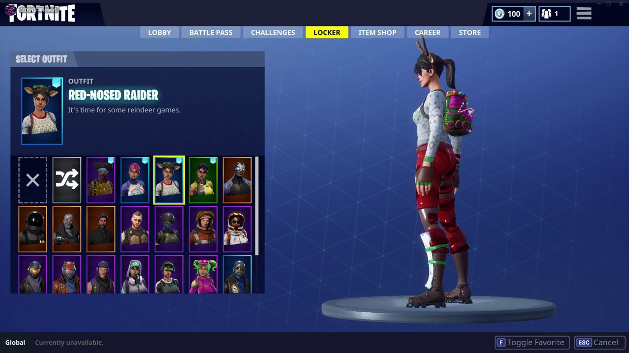 Super Rare Fortnite Account With Red Nose Raider Last One Left - super rare fortnite account with red nose raider last one left trade sell fortnite accounts