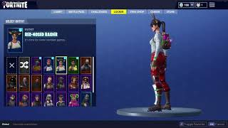 SUPER RARE fortnite account with red nose raider *last one left* trade/sell fortnite accounts