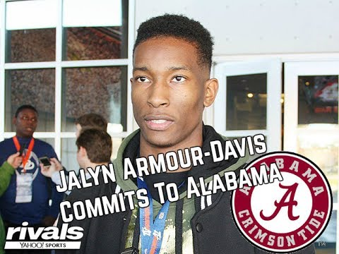 Jalyn Armour-Davis Commits To Alabama