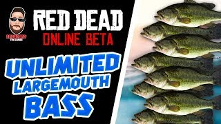💰UNLIMITED💰 Largemouth Bass bass Red Dead Online  (XP, GLITCH, UPDATE)  Red Dead Redemption 2