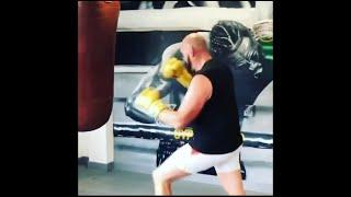 Tyson Fury vs Anthony Joshua   Punching Bag Comparison