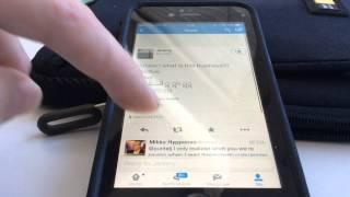 Effective Power Unicode iOS hack vs Twitter