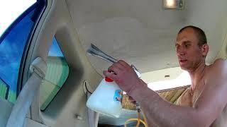 ТОРНАДОР против грязи на потолке в моём авто.