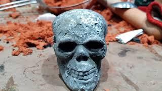 Molten Aluminium Lost Foam Skull Casting