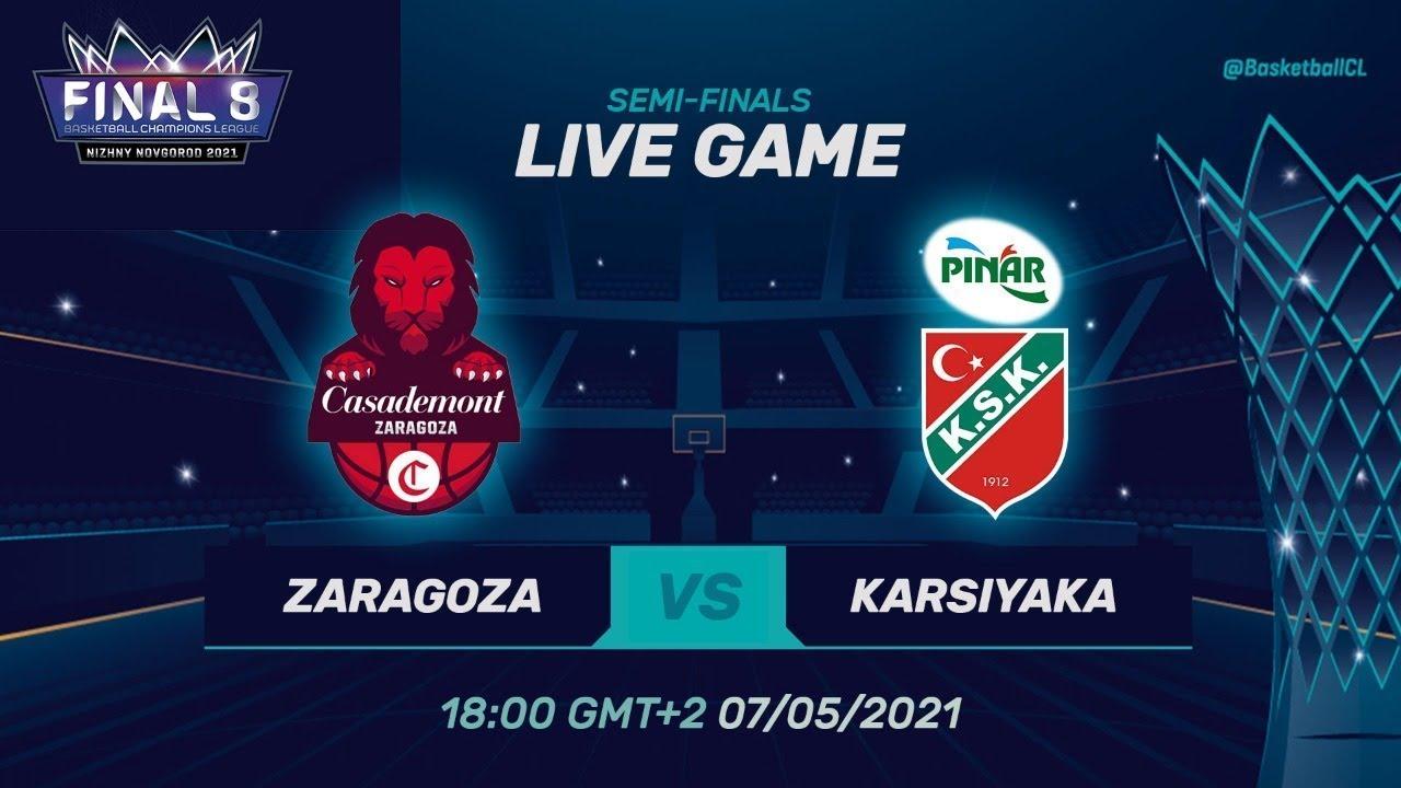Casademont Zaragoza v Pinar Karsiyaka - Full Game | @Basketball Champions League
