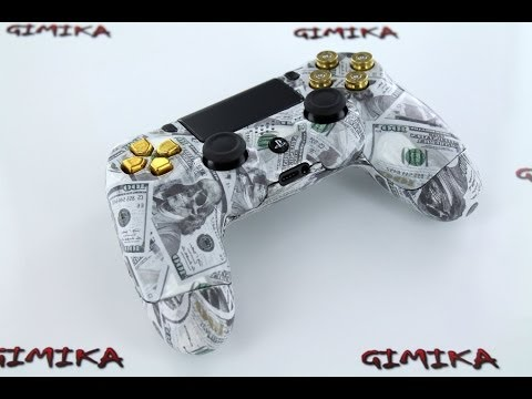 Dead Presidents PS4 Custom Modded Controller Unboxing