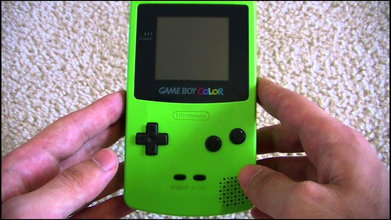 Game boy color - Game Boy Color Review