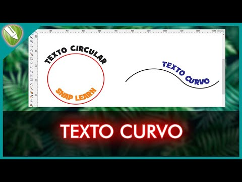 como hacer letras/texto en curvas/circulo corel draw