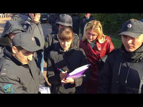 Беспредел судебных приставов Белгорода 28.09.2017 года на Яковлевском руднике,