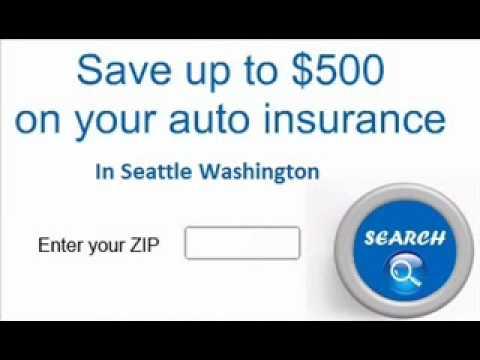 Cheapest Car Insurance Seattle Washington