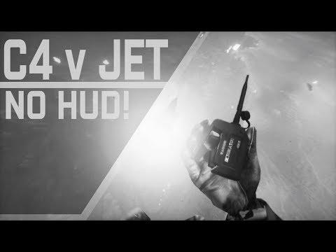 Battlefield 4: C4 v Jet — Without HUD! (1080p 60 fps)