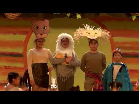 Lion King Kids Santiago K-8 School SAUSD-TV