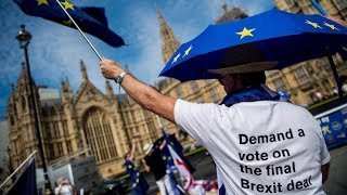 MPs debate amendments to EU withdrawal bill – watch live