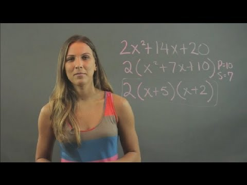 Double Factoring in Math : Elementary Math
