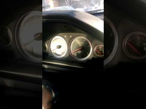 Как заводится дизельная Volvo XC90 в мороз