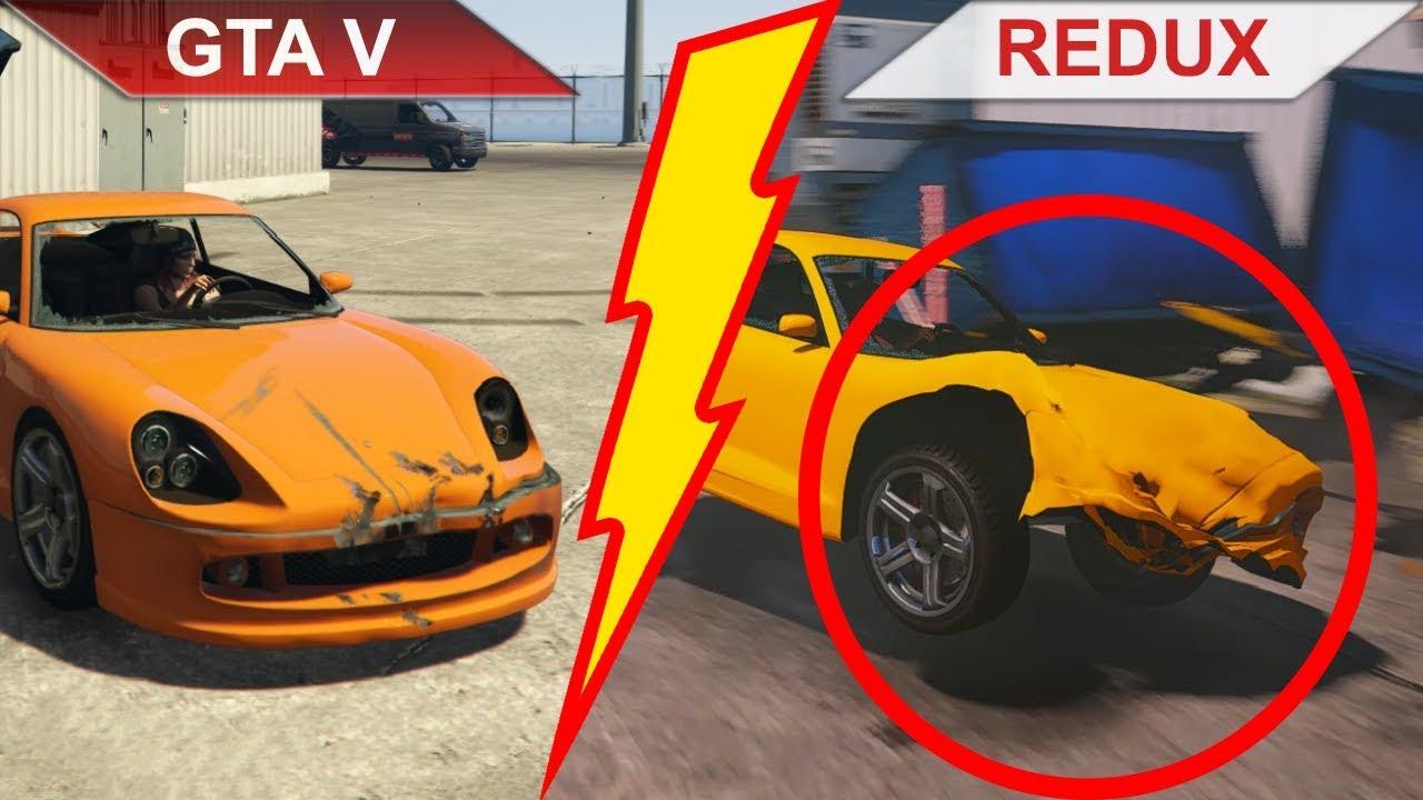 GTA V - Original vs. REDUX | 2019 | Part 1