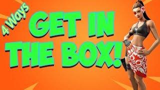 Wie man in jemand es Box Fortnite Saison 9 | 4 WEGE!