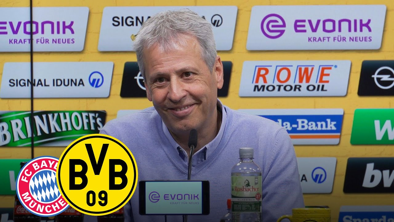Vor dem Spitzenspiel: die PK mit Favre und Zorc   FC Bayern München - BVB