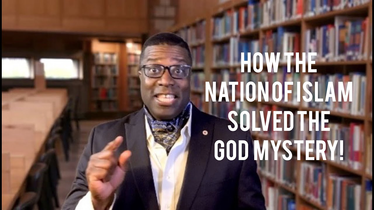 HOW THE NATION OF ISLAM SOLVED THE GOD MYSTERY - THE UFO COVER UP!