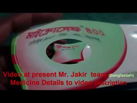 How to work tablets Microcer 400  medicine