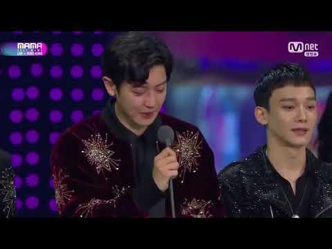 171201 EXO - Album Of The Year @ 2017 MAMA in Hong Kong (EXO album del año 2017 sub español parte 2)