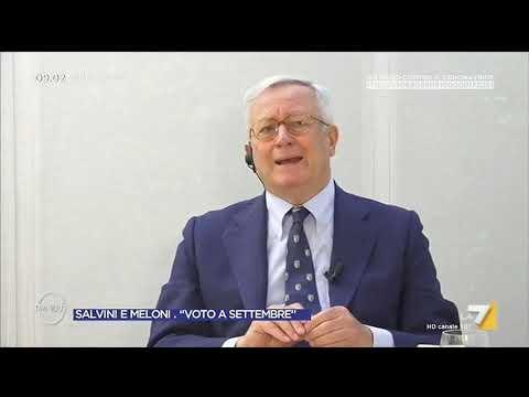 MES, Giulio Tremonti: 'Finalmente la UE ha emesso Eurobond ma Italia non può fare altro debito'