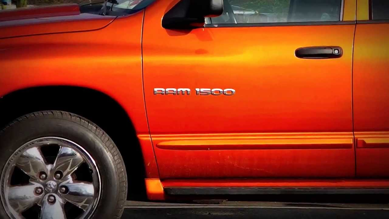 Dodge 5 7 Hemi >> Dodge Ram 1500 Daytona. American Pickup. - YouTube