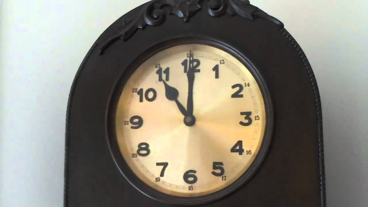 100 Year Old Dufa Grandfather Clock For Sale