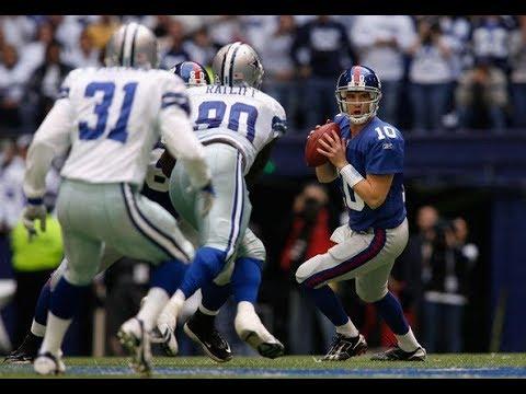 Eli Manning playoff highlights