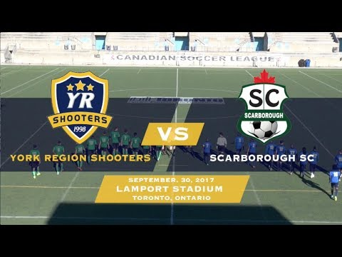 York Region Shooters vs Scarborough SC | CSL Championship Game | 2017