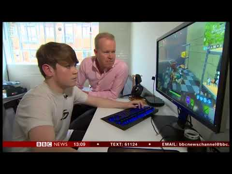 Kyle Jackson 13 year profi gamer Fortnite BBC News