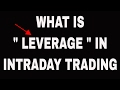 What is Intraday
