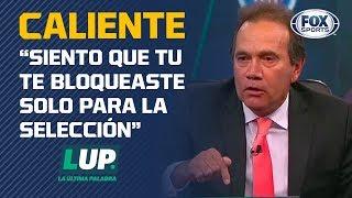Tremenda discusión entre Quirarte y Almeyda