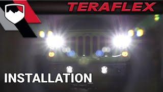 teraflex install jw speaker headlights model 8700