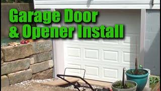 Installing new Garage Door and WiFi Opener