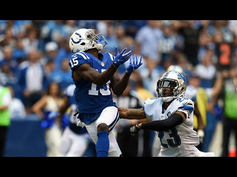Phillip Dorsett Catches 51 Yard Bomb || Week 1 Colts vs Lions