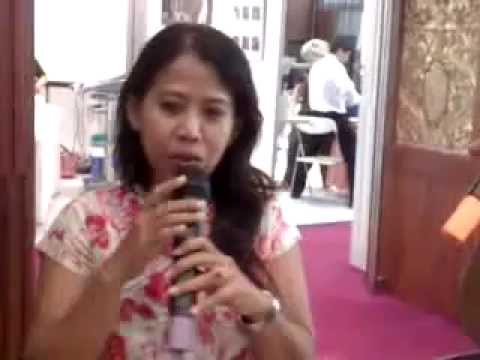 Bali International spa and wellness 2011, interview session with sanur paradise fitness and spa
