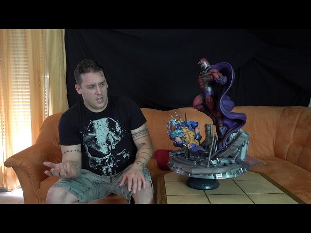 Relic Hunter Team - 1/4 Wolfslayer - Magneto vs Wolverine