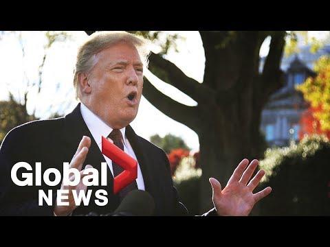 Trump addresses statement on Khashoggi killing, Ivanka's emails controversy