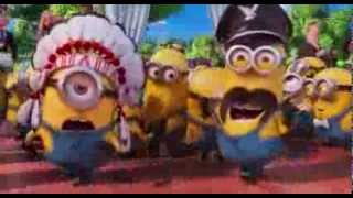 "Minions perform ""Y.M.C.A."" by Village People ... from ""Despicable Me 2"""