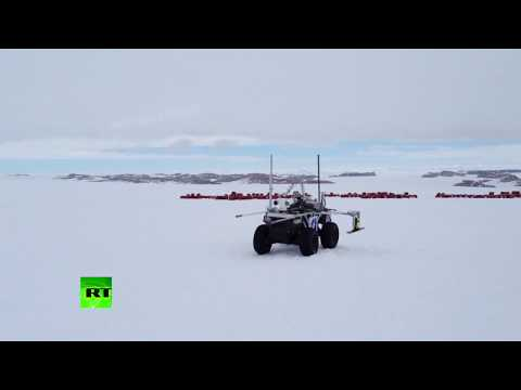 Scientific breakthrough: China tests own-made ice rover in Antarctica