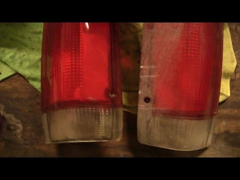 How to Restore Your Tail Lights like a pro