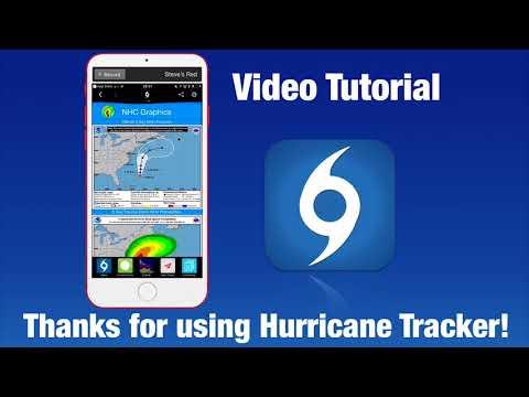 Hurricane Tracker App Video Tutorial