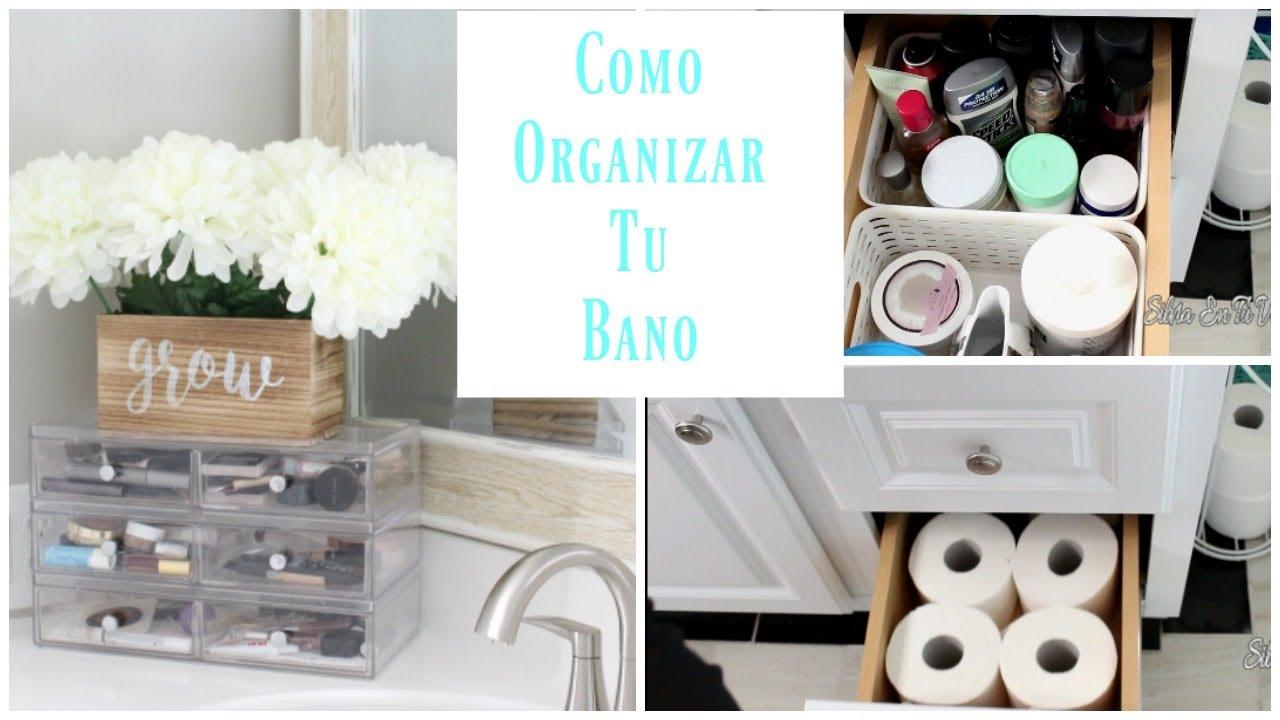 Ideas para organizar el ba o como organizar debajo del for Como disenar tu bano