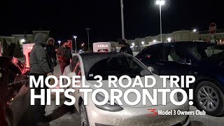 Model 3 Road Trip hits Toronto! | Model 3 Owners Club