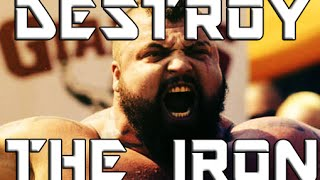 "Powerlifting Motivation - ""DESTROY THE IRON"" - StaneTMI"
