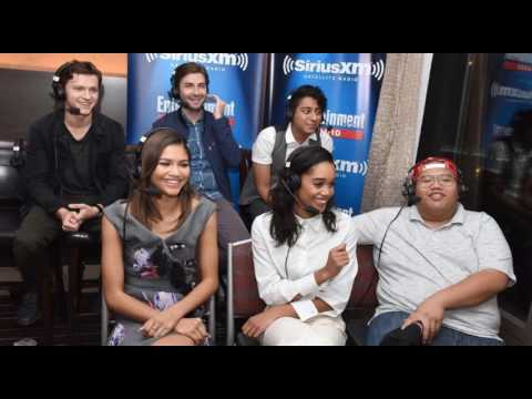 The Spider-Man: Homecoming Cast on SiriusXM EW Radio at Comic-Con 7/23/16