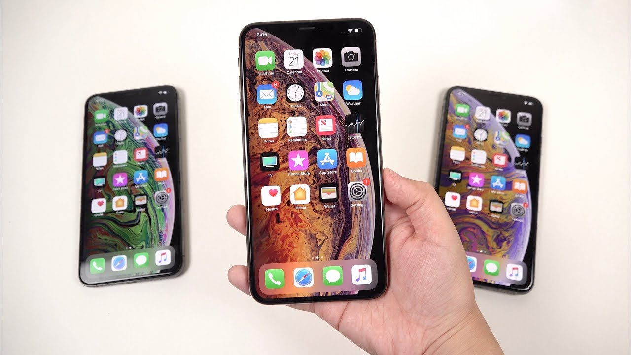 low priced c6b81 bf0b9 iPhone XS Max: Unboxing & First Impressions (Display Quality)
