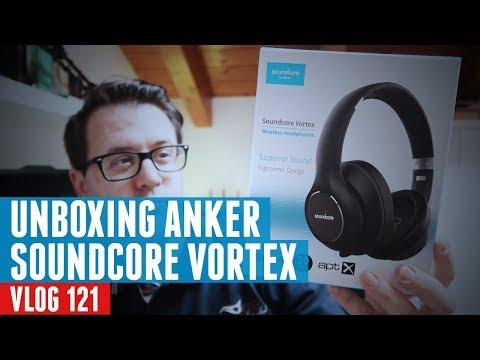 871050c180a Unboxing Cuffie Anker Soundcore Vortex - YouTube